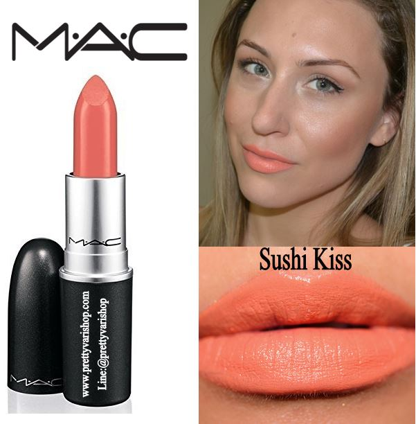 *�������*MAC Summer 2013 All About Orange Collection Satin Lipstick #Sushi Kiss **Limited ������ժ���ͫҵԹ ��������ҡ�ҡ��� �Ի㹤���Ť��蹻� 2013 ⷹ����� �շ������µ��ؤ ����Ժ�ҷ������������Դ���